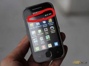 Cara Merubah Status Bar Samsung Galaxy young